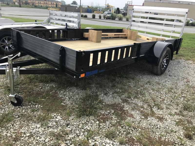 "Price Reduced! 2019 Mission 80""x14' Equipment Trailer"