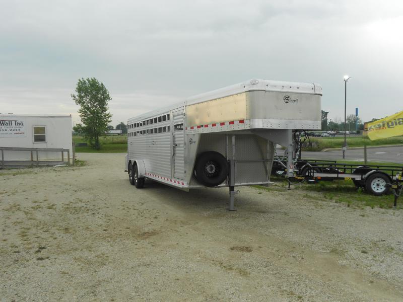 2018 Barrett Trailers SSGN-247066 Livestock Trailer