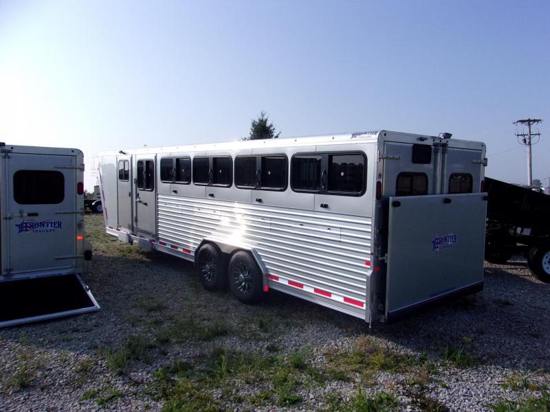2018 Frontier 8x26 DDFW GN Livestock Trailer