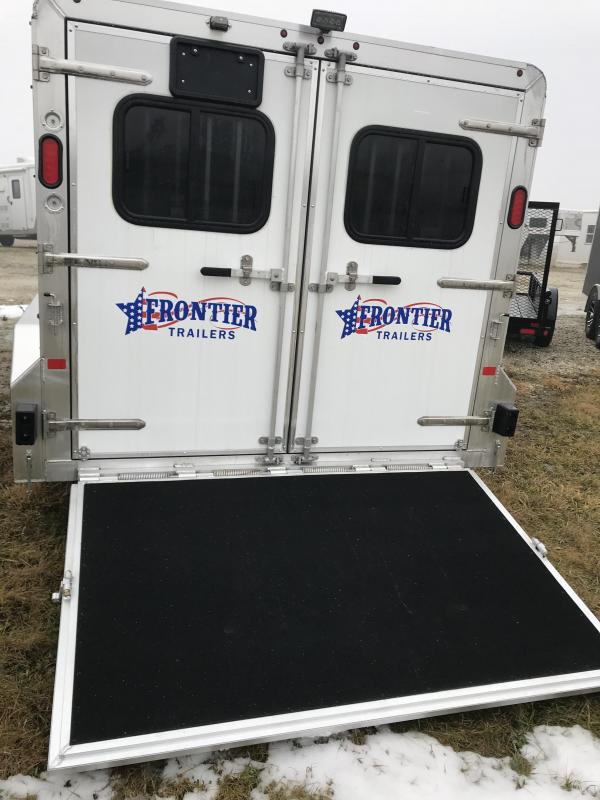 2018 Frontier 7x16 6 PIN Livestock Trailer