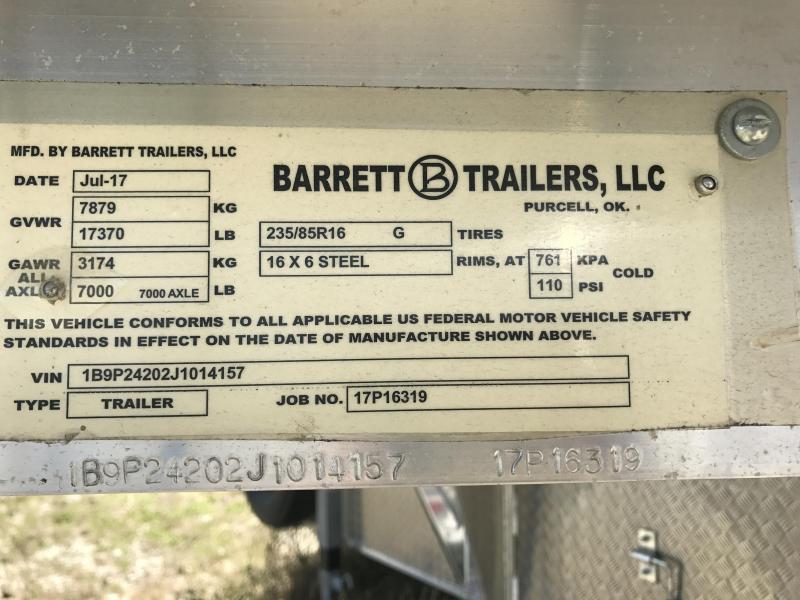 2018 Barrett  SSG 24x7.5x6.6