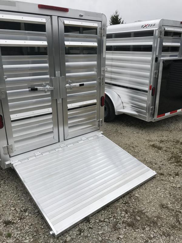2018 Exiss Trailers EXHIBITOR 615BP Livestock Trailer