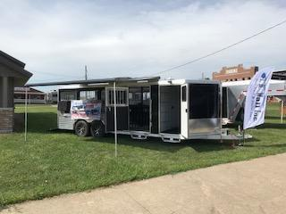 2018 Frontier 8 PEN Low Pro Livestock Trailer