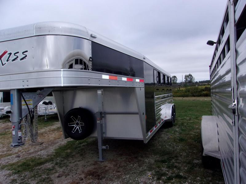 2018 Exiss Trailers 7020W Livestock Trailer