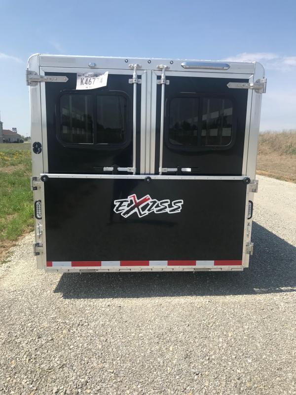 2019 Exiss Trailers Exhibitor 7020A Livestock Trailer