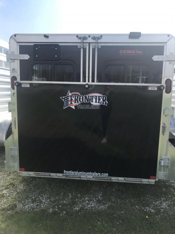 2019 Frontier Low Pro DDFW 6 pen Trailer