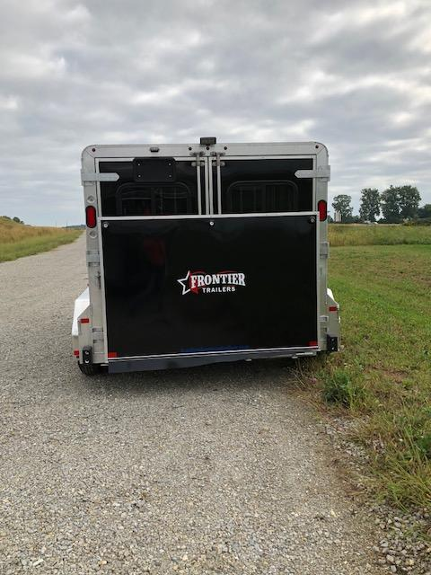 2019 Frontier 4 Pen Low Pro 7x12 Livestock Trailer