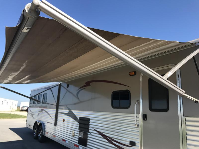 Price Reduced! 2012 Bison 8417 TM LQ Horse Trailer