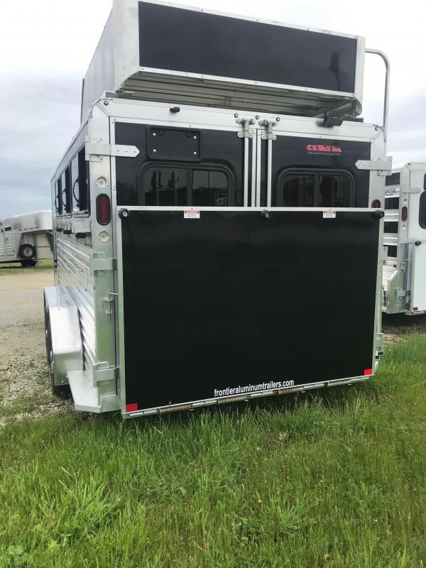 2019 Frontier Low Pro DDFW 6 pen Trailer