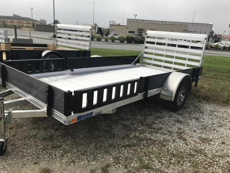 2019 Mission 80 x 14 AR 2.0 Equipment Trailer