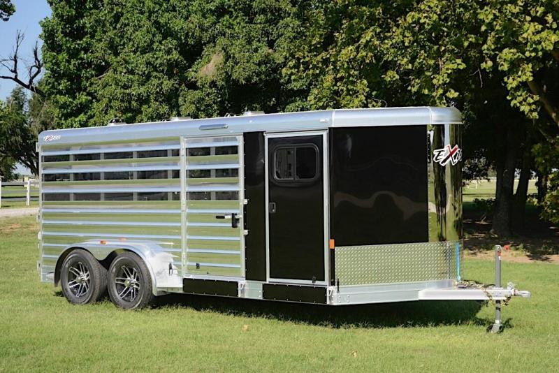 2019 Exiss BP Low Pro 6 pen Trailer -- 4ft rear ramp