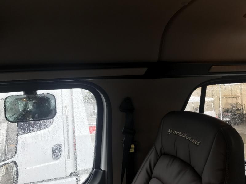 2014 Freightliner SportChassis Brown Interior