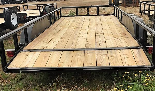 "6'10""x16' Double G Utility Trailer"