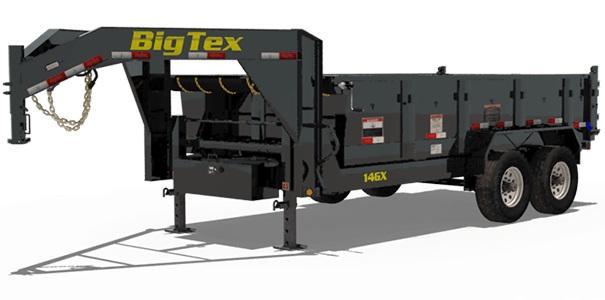 2019 14GX-16 BIG TEX GOOSENECK DUMP TRAILER