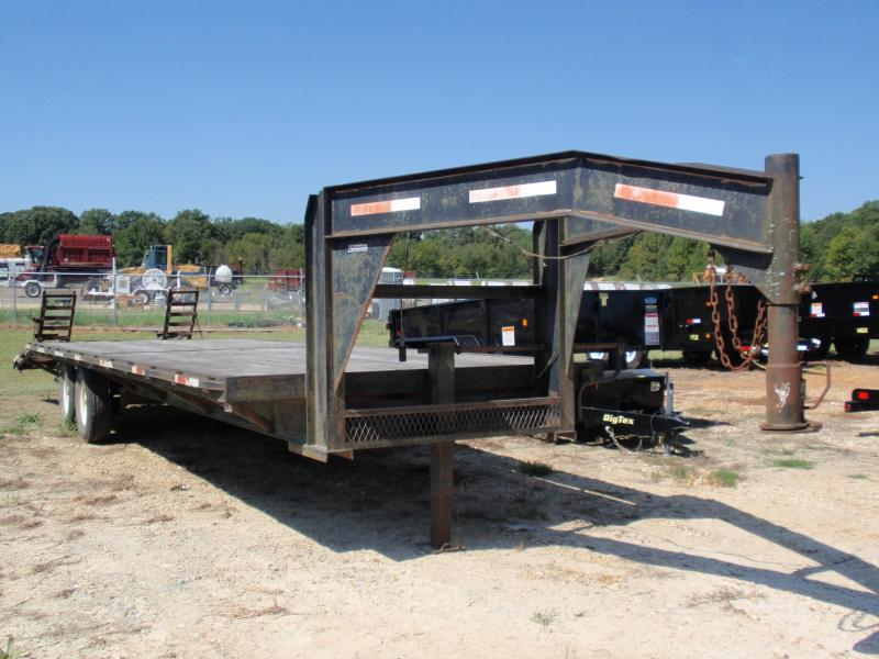 1996 CW 46C GOOSENECK EQUIPMENT TRAILER