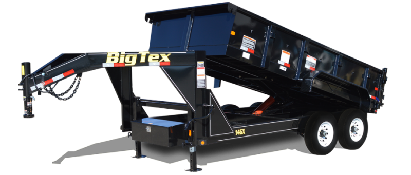 14GX-16 Big Tex Dump Trailer