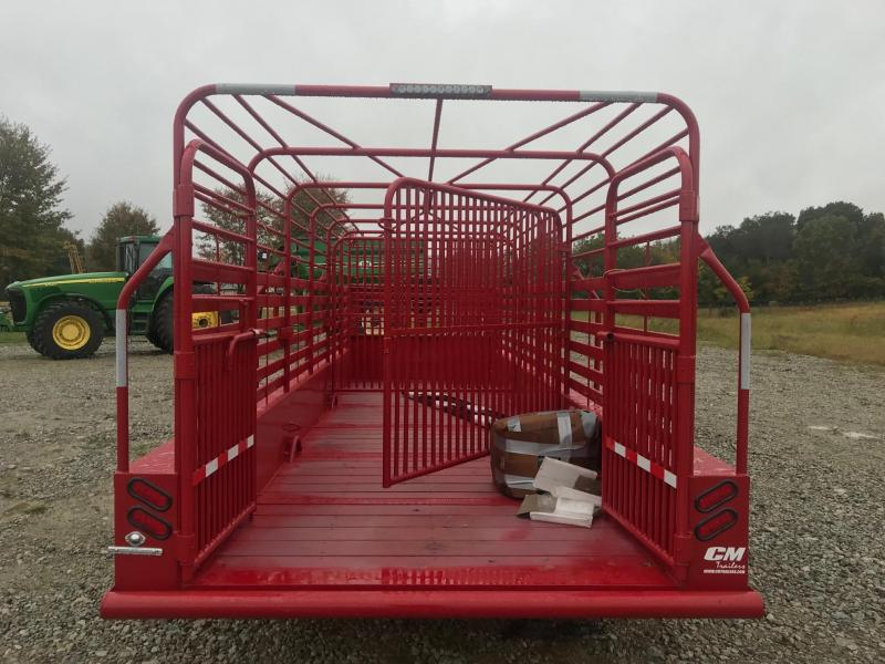 2019 CM BRUSH BUSTER Livestock Trailer