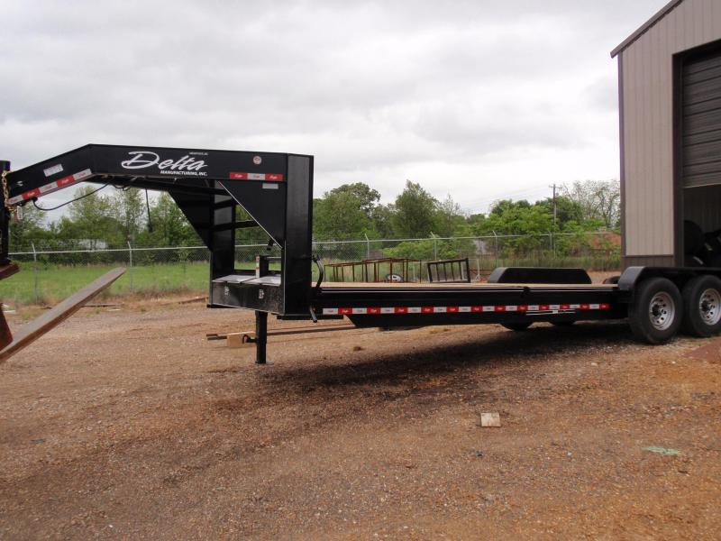 2019 DELTA GOOSENECK EQUIPMENT TRAILER