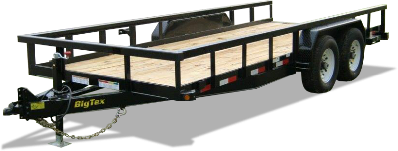 14PI-18 Big Tex Utility Trailer