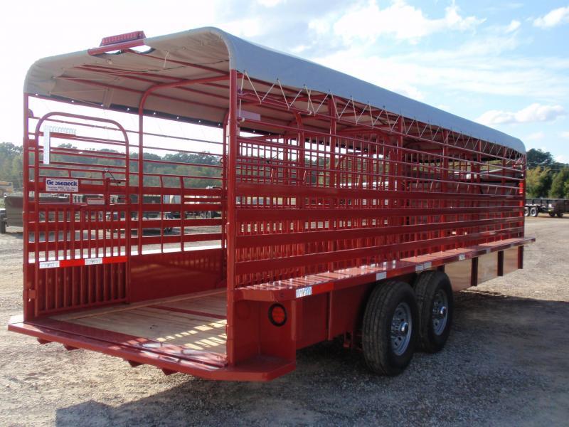 2019 Gooseneck STOCK Livestock Trailer