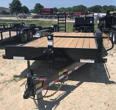 2018 Big Tex Trailers 14et-20bk Equipment Trailer