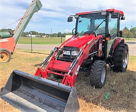 2017 Case 55C Tractor