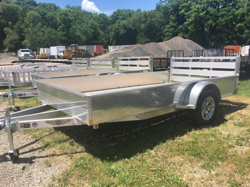 2019 H and H Trailer 76X12 SOLIDSIDE ALUM 3K