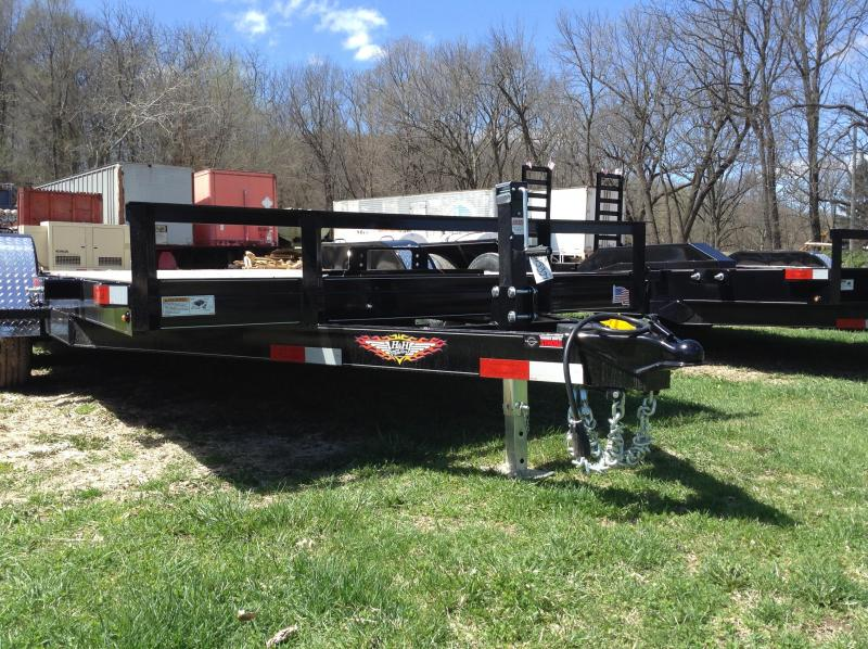 2019 H and H Trailer 82X16 HD FLATBED 10K in Ashburn, VA