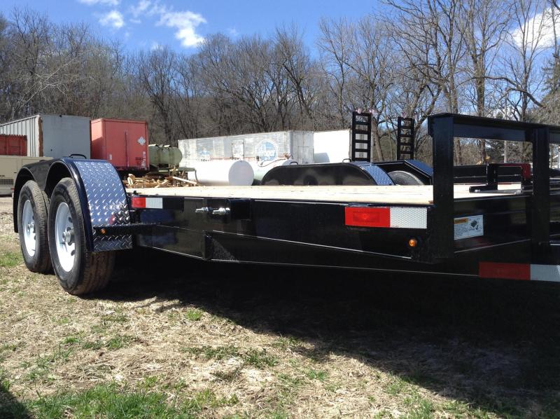 2019 H and H Trailer 82X16 HD FLATBED 10K