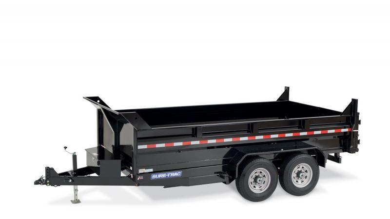 2019 Sure-Trac ST8214TLDD-B-140 Dump Trailer
