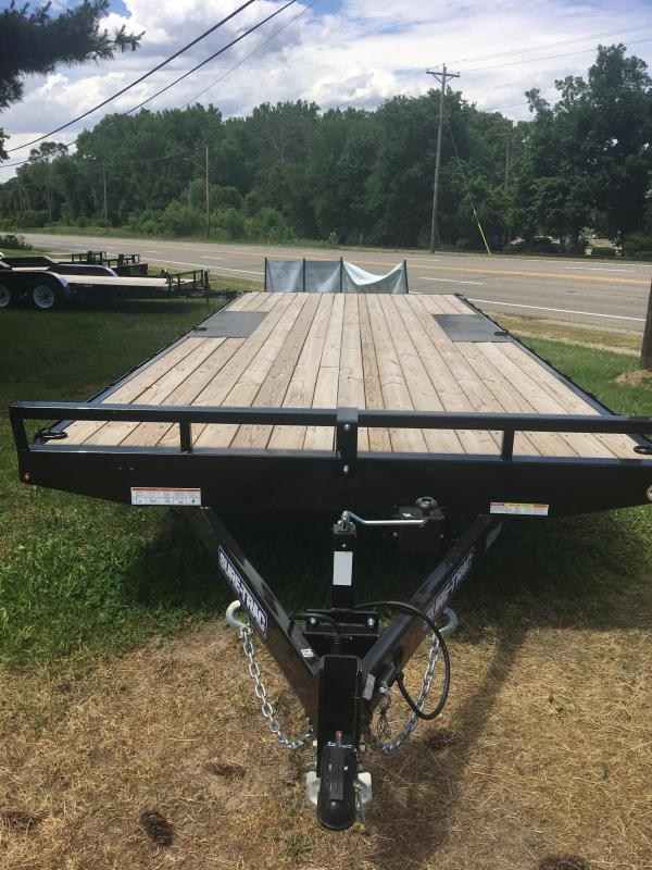 2019 Sure-Trac 8.5 X 20 Flat Deck Deckover 10K in Ashburn, VA