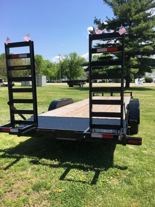 2018 H&H H8222IL-100 Industrial TA Flatbed