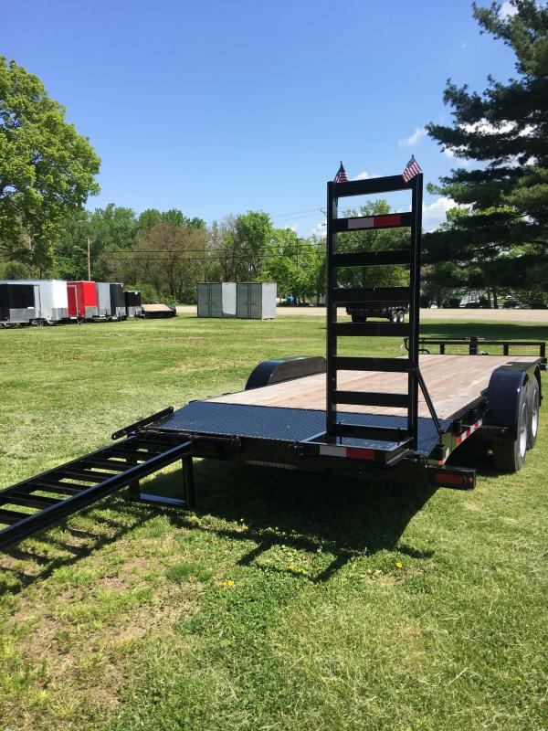 2018 H&H H82X20+2IL-140 Industrial TA Flatbed | Cadys Cars