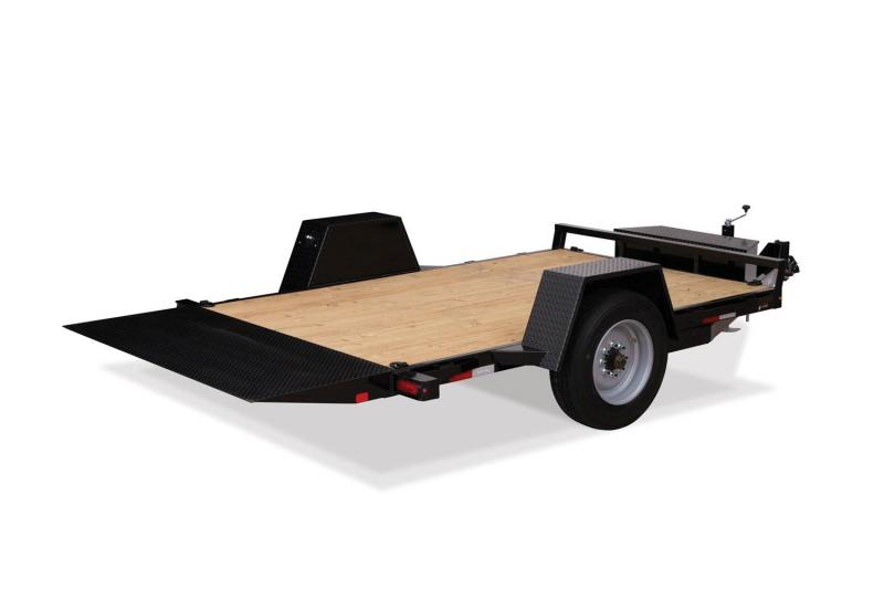 2019 Sure-Trac ST78124SATE-B-078 Flatbed Trailer