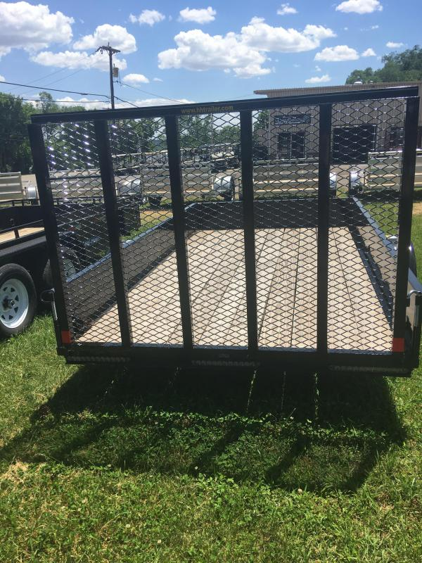 2019 H and H Trailer 6X12 STEEL SOLID SIDE 3.5K