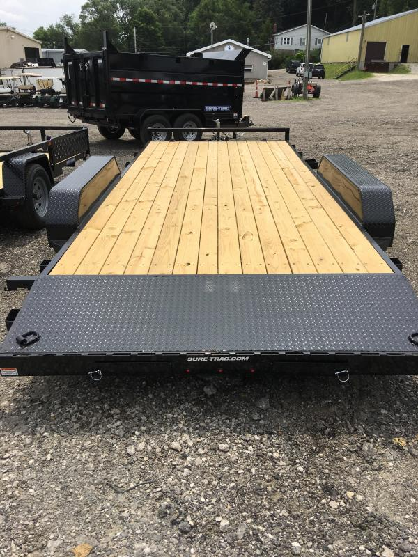2019 Sure-Trac ST8218CHW-B-070 Car/Racing Trailer