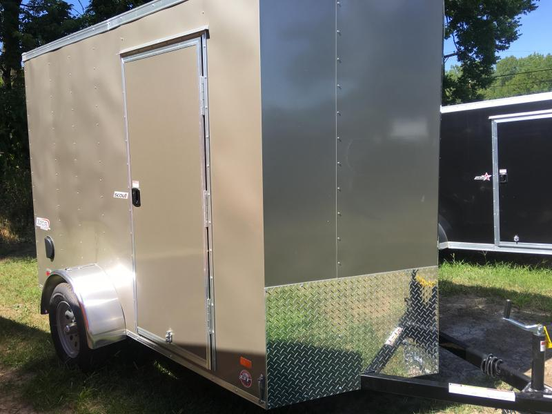 2020 Bravo Trailers Scout 6x10 Single Axle Enclosed Cargo Trailer