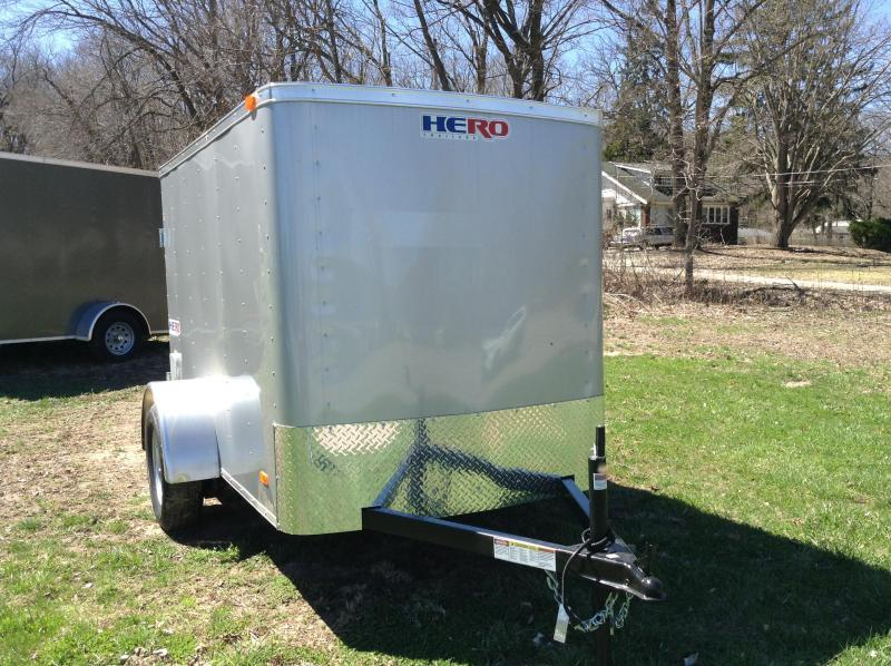 2019 Bravo Trailers HR58SA Enclosed Cargo Trailer