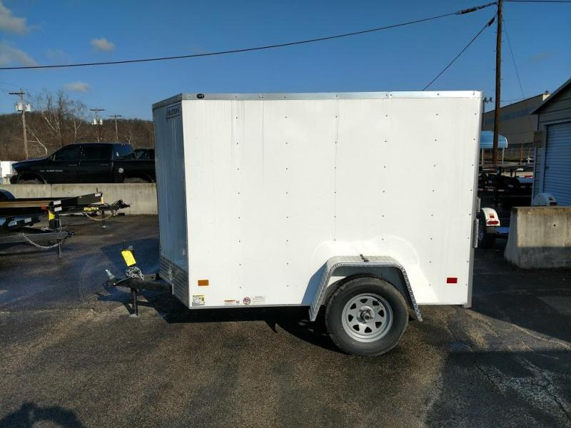 Enclosed Cargo   Glassport PA Flatbed Utility and Cargo Trailers in PA
