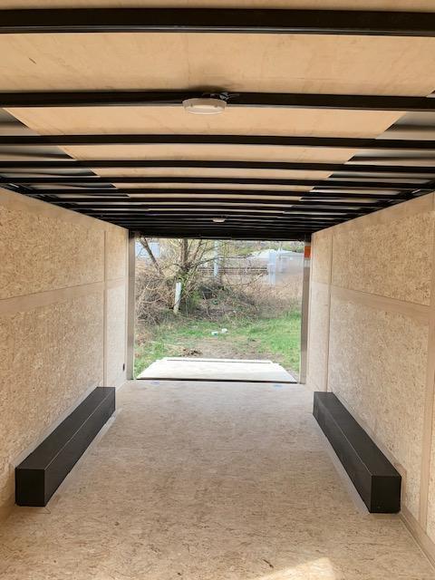 2019 Haulmark 8.5 X 20 Transport V-Nose Enclosed Car Hauler