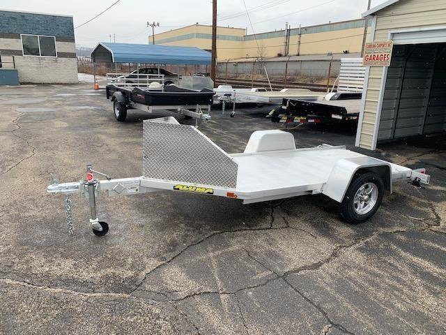 "2020 Aluma 51"" X 10' Motorcycle Trailer"