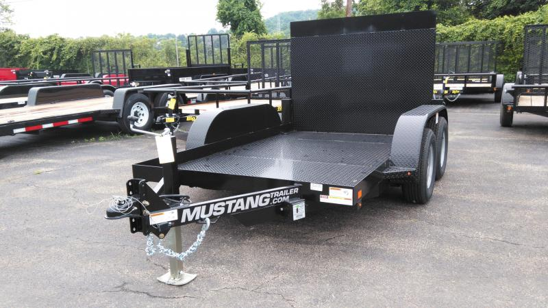 2019 Mustang Trailers MANLIFT Equipment Trailer