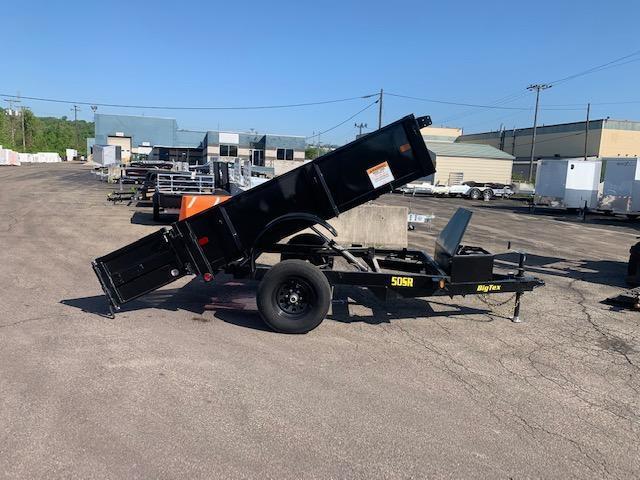 2019 Big Tex Trailers 5X8 Tandem Dump Trailer Dump Trailer