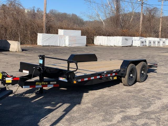 "2019 Big Tex Trailers 80""X20' 14TL-20BK Equipment Trailer"