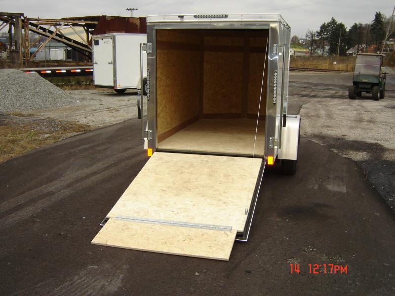 2018 Cross Trailers 58SA-ALPHA Enclosed Cargo Trailer