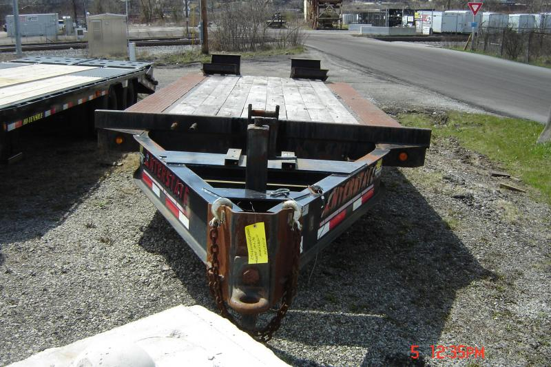 2008 Interstate 96X20 Deckover Equipment Trailer