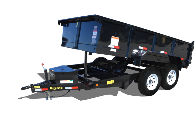 2019 Big Tex Trailers 10SR-12XLBK7SIR Dump Trailer