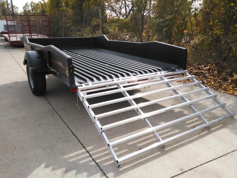 2019 Floe CM 8-57-XRT Polymer Bed Utility Trailer