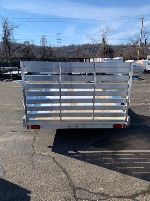 2020 Aluma 78 X 12 ES Series Wood Deck Utility Trailer