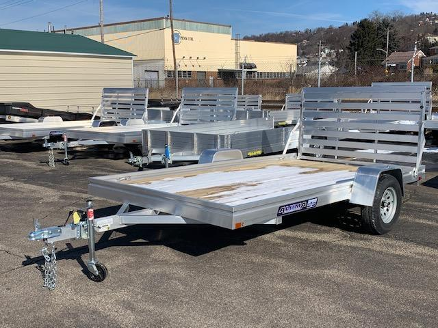 2020 Aluma 78 X 12 ES Series Wood Deck Utility Trailer